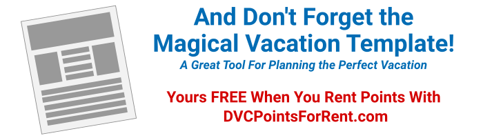magical vacation template